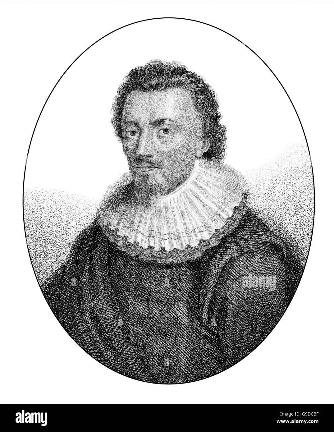 George Calvert, 1st Baron Baltimore, 1579-1631, an English politician and  colonizer