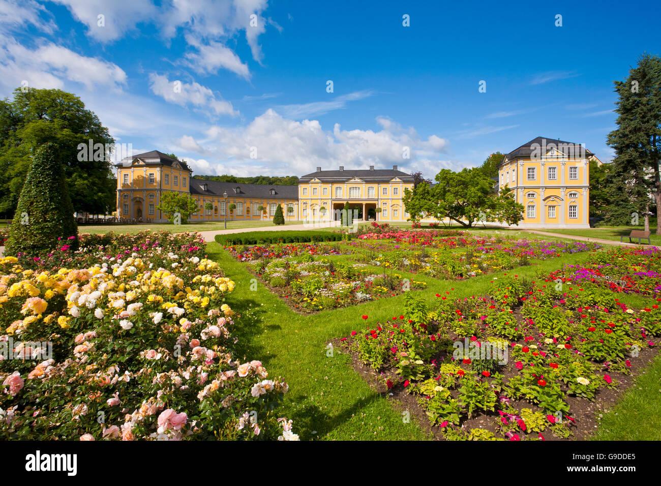 Kuechengarten, Kitchen Garden Park and the Orangery in Gera, Thuringia - Stock Image
