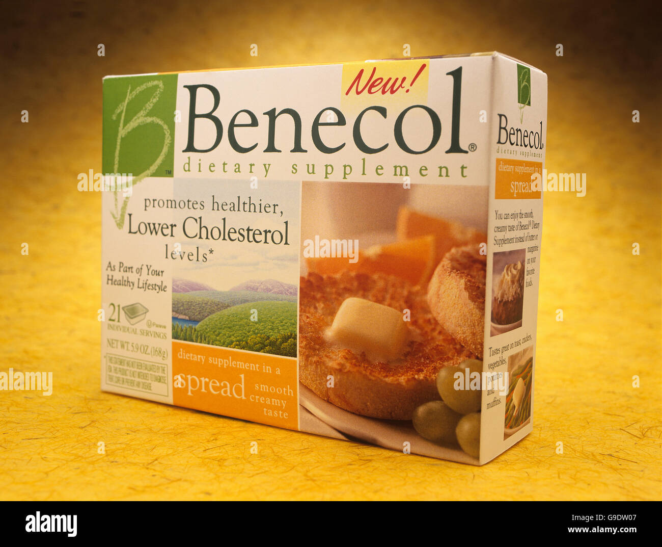 Benecol butter substitute - Stock Image