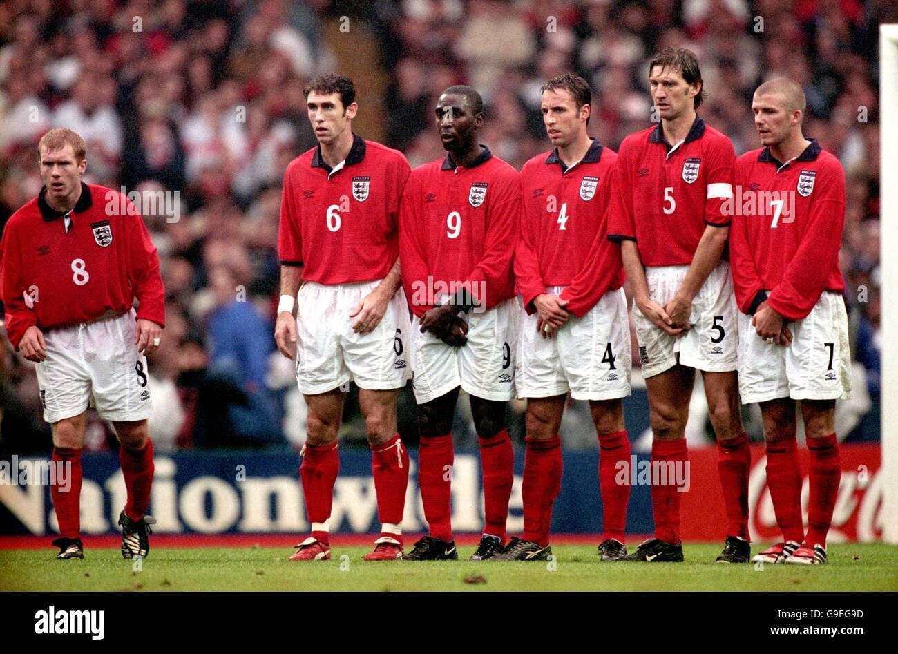 Soccer - World Cup 2002 Qualifier - Group Nine - England v Germany - Stock Image
