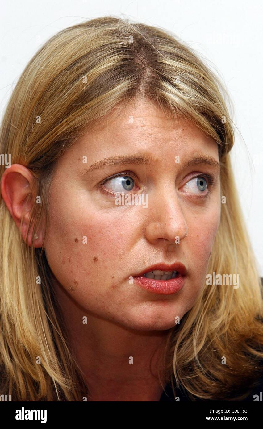 Wife of killed soldier questions Defence Secretary - Stock Image