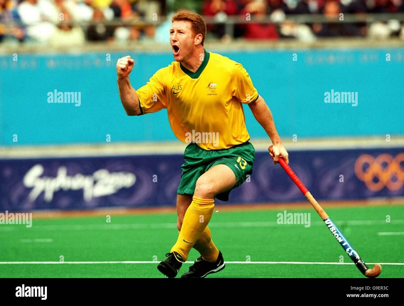 Sydney 2000 Olympics - Men's Hockey - Australia v Korea Stock Photo