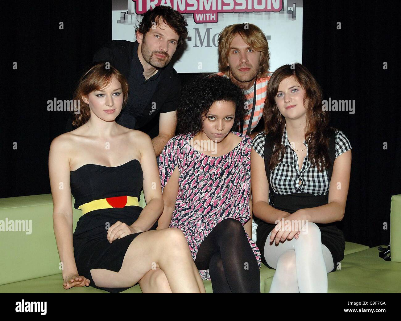 New Young Pony Club before performing at the Transmission with Stock