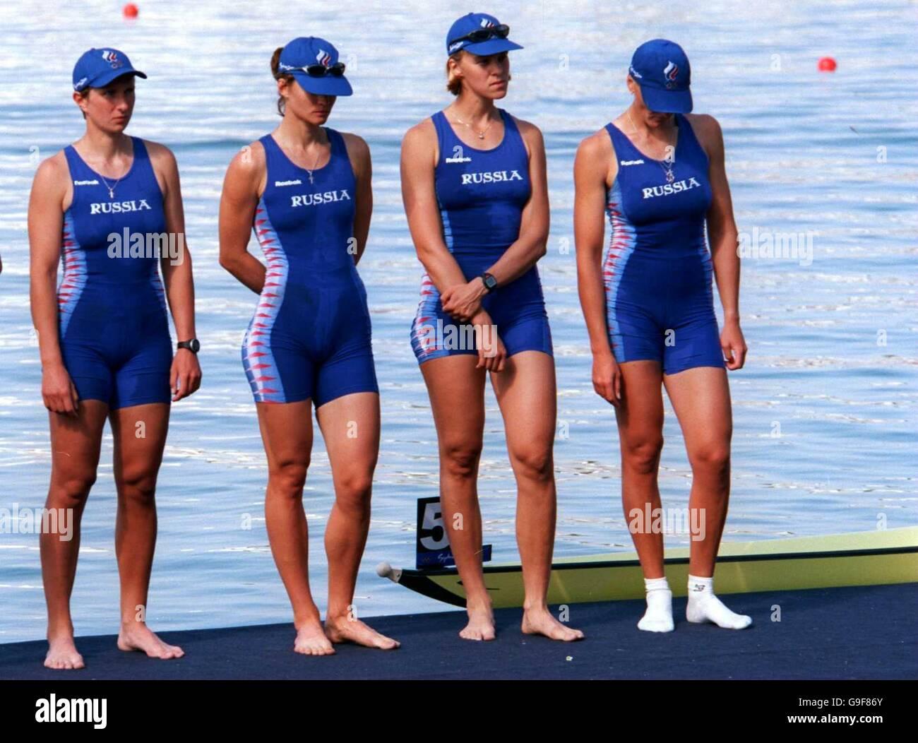 Sydney 2000 Olympic Games - Rowing - Women's Quadruple ...