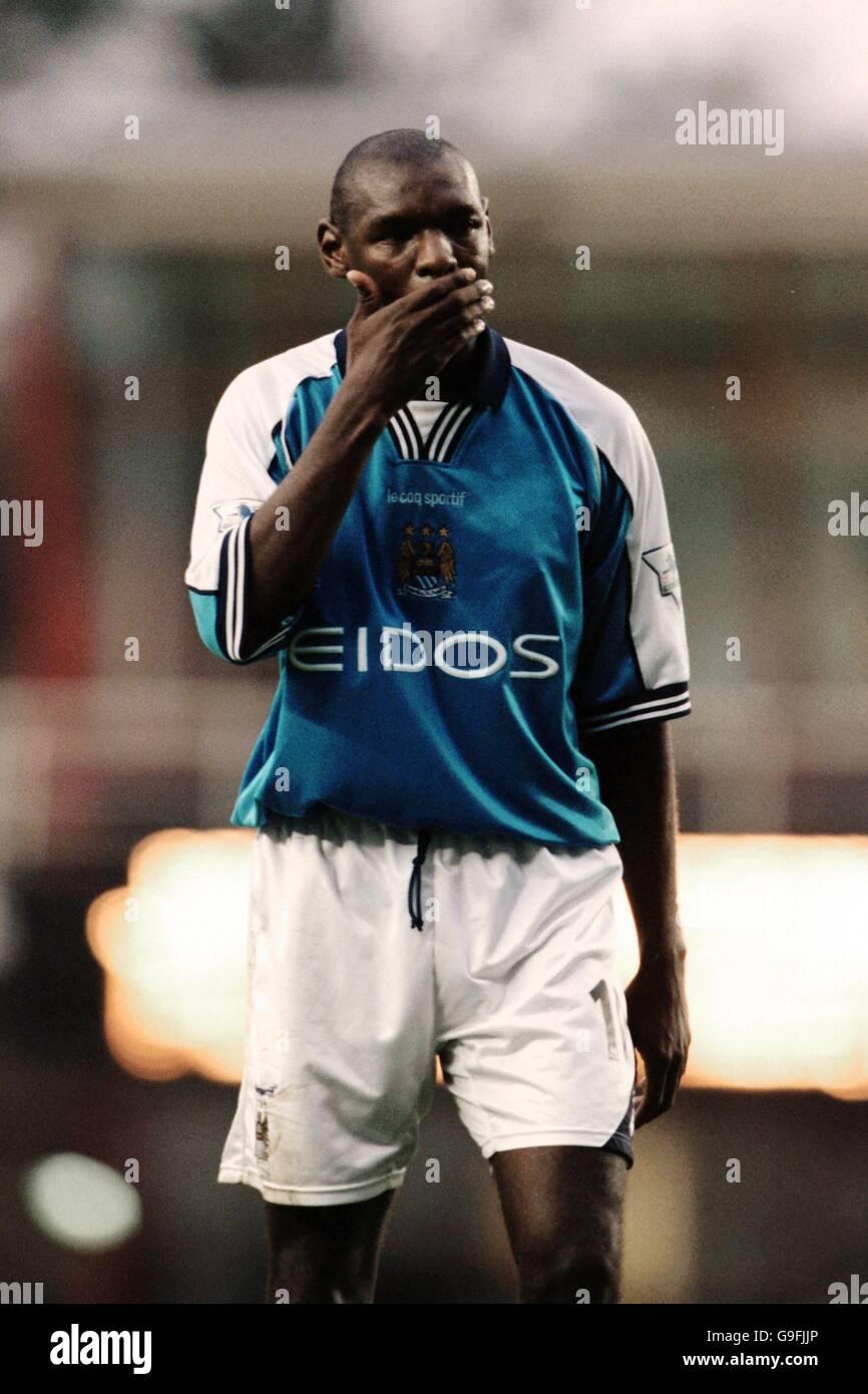 Soccer - FA Carling Premiership - Arsenal v Manchester City - Stock Image