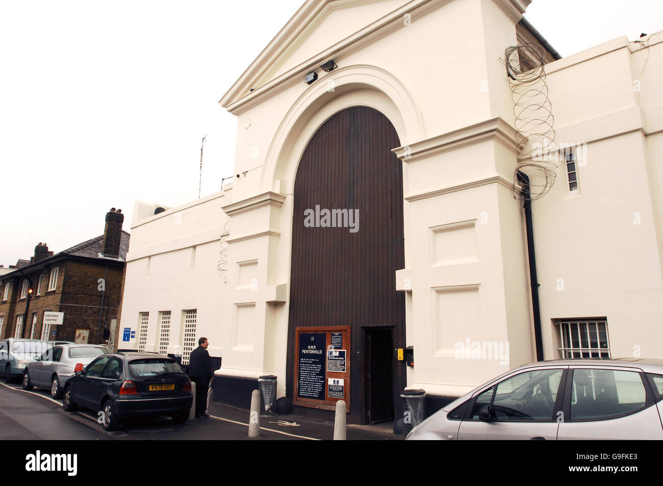 Crime and Legal Issues -  Prisons - H.M.P. Pentonville - London - Stock Image