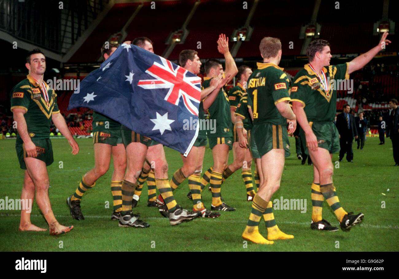 Rugby League - 2000 World Cup - Final - Australia v New Zealand Stock Photo