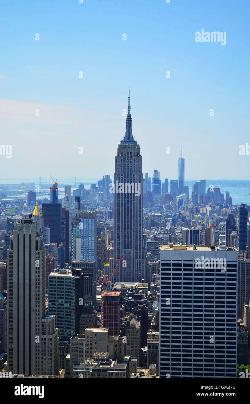 The Empire State Building - Stock Image