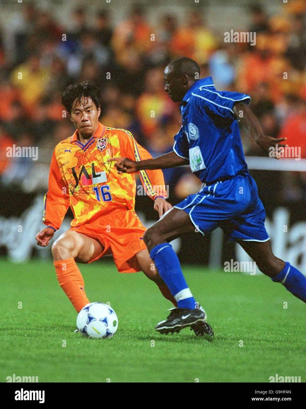 Asian Soccer - Asian Super Cup - Final - Shimizu S.Pulse v Al Hilal Stock Photo