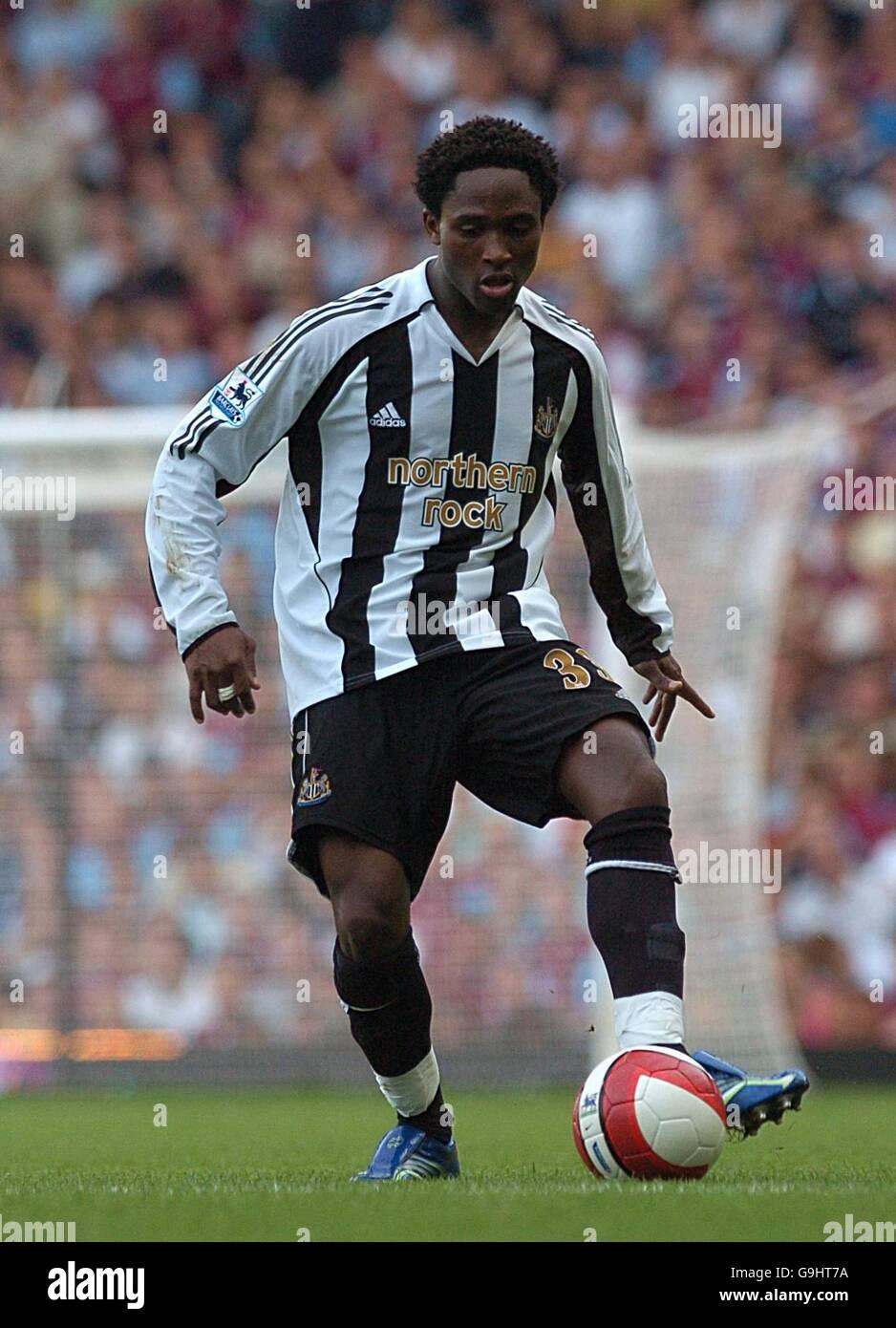 Soccer - FA Barclays Premiership - West Ham United v Newcastle United - Upton Park - Stock Image