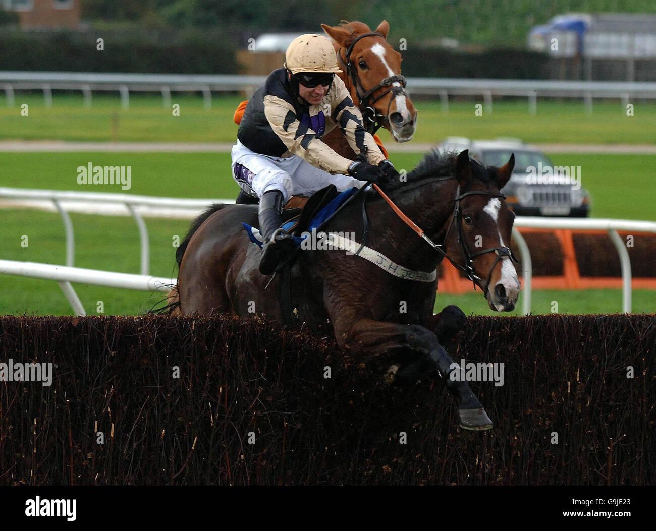 Racing - Weatherby Stock Photo