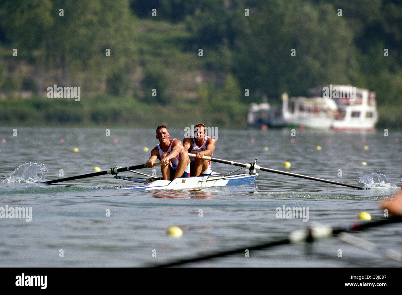 Rowing - Olympic Games Barcelona '92 - Coxless Pairs Stock Photo