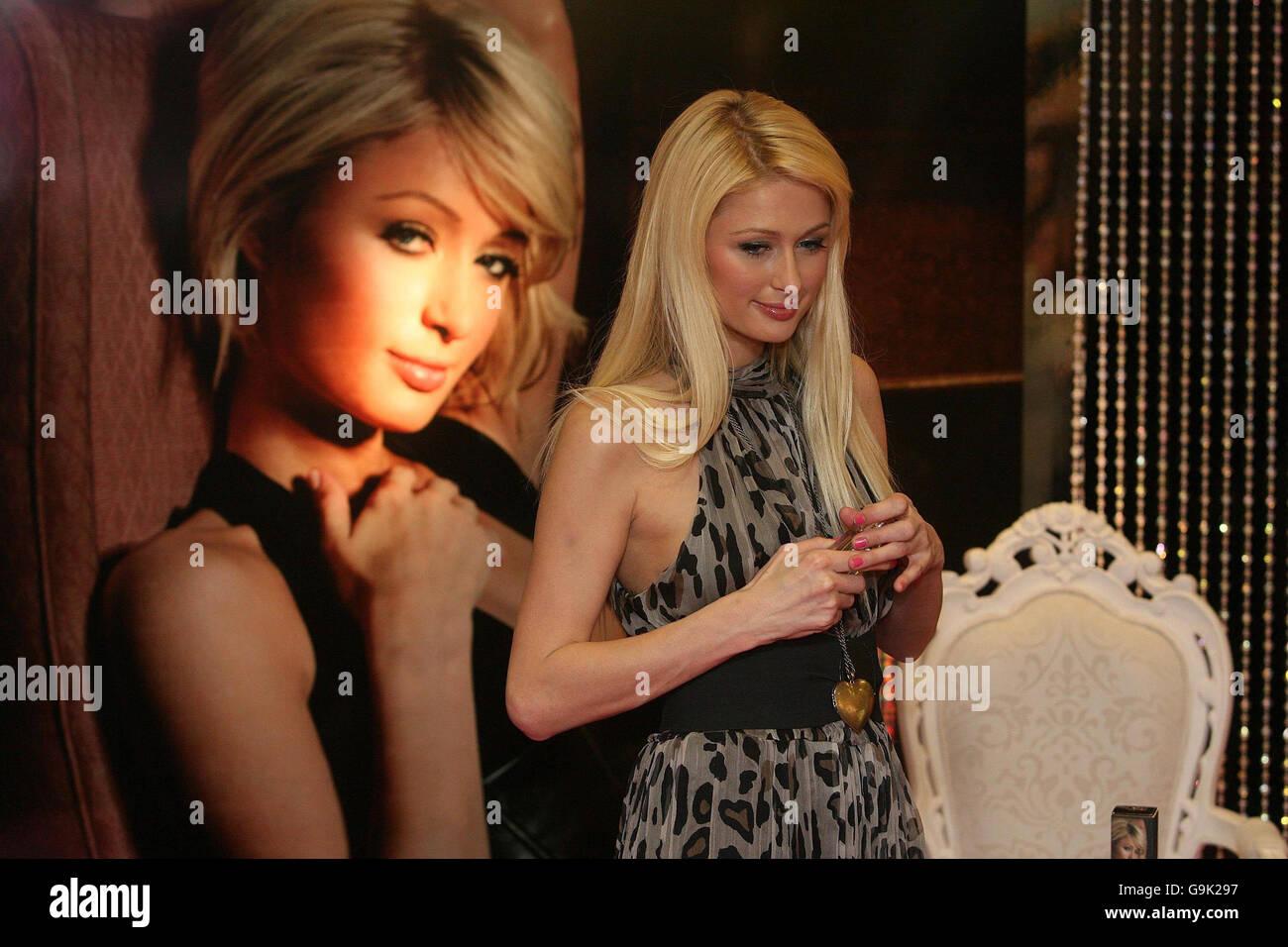 Paris Hilton launches her new perfume Heiress - Dublin - Stock Image