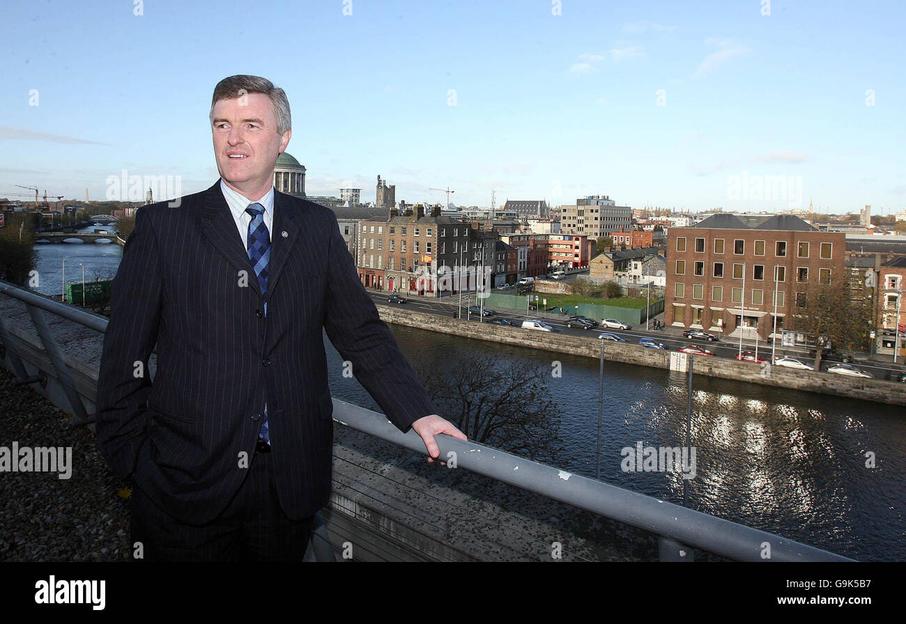 Council's vision for Dublin in 2007. - Stock Image