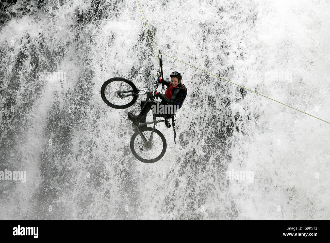 Fort William Mountain Festival - Inchree Falls - Stock Image