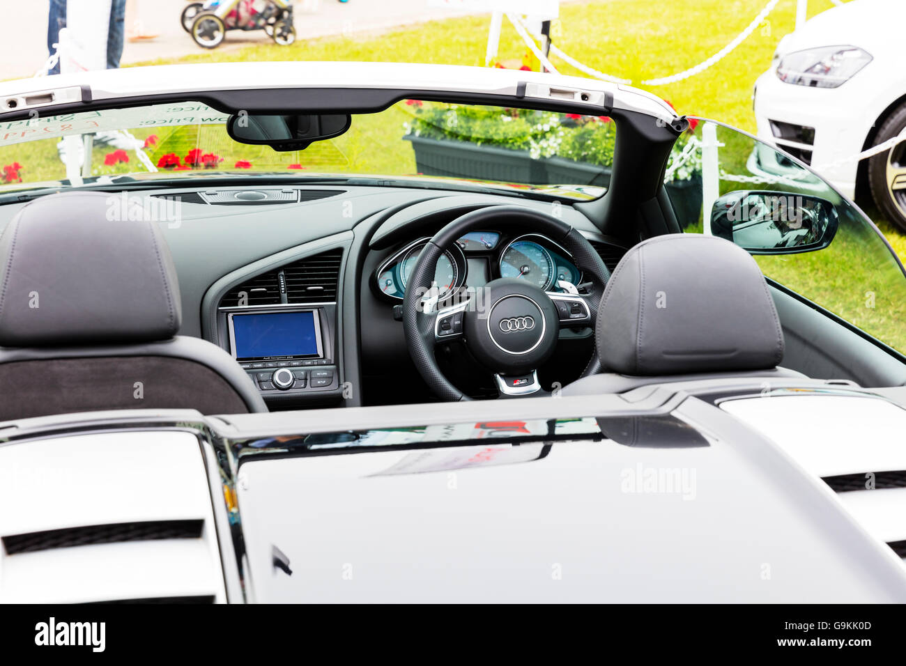 Audi R8 Car Interior Inside Cabriolet Vehicle Sport Sports Car Cars