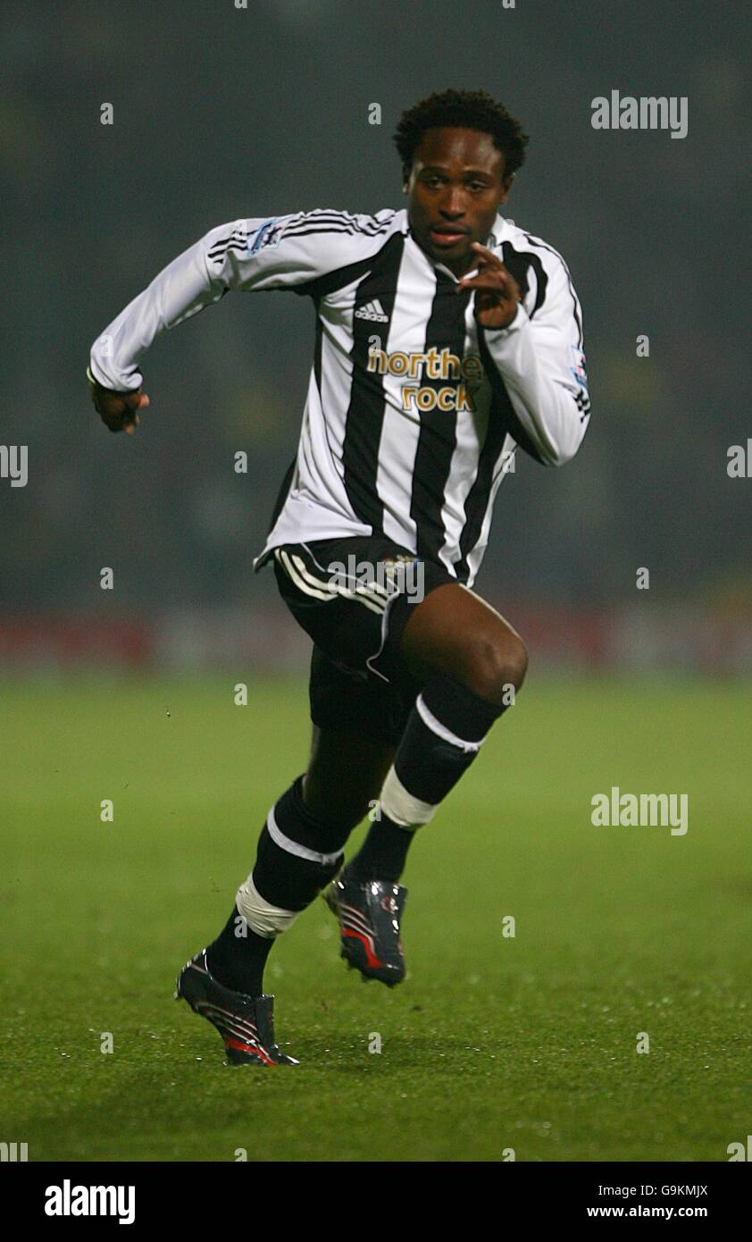 Soccer - Carling Cup - Fourth Round - Watford v Newcastle United - Vicarage Road - Stock Image