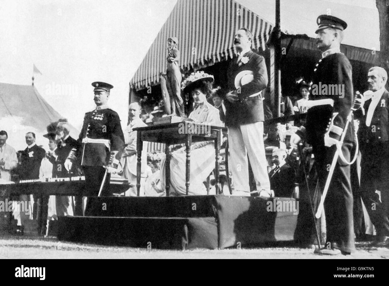 Rowing - London Olympic Games 1908 - Henley - Stock Image