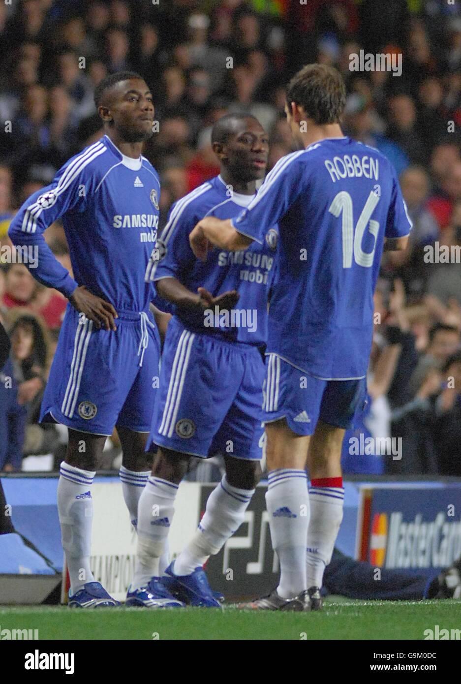 Soccer - UEFA Champions League - Group A - Chelsea v Levski Sofia - Stamford Bridge - Stock Image