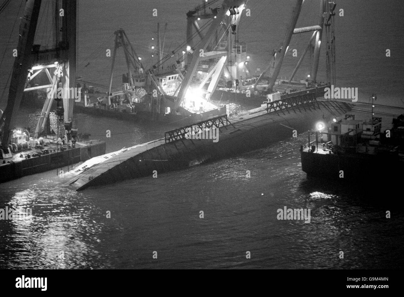 Herald of Free Enterprise disaster Stock Photo: 109236869 ...