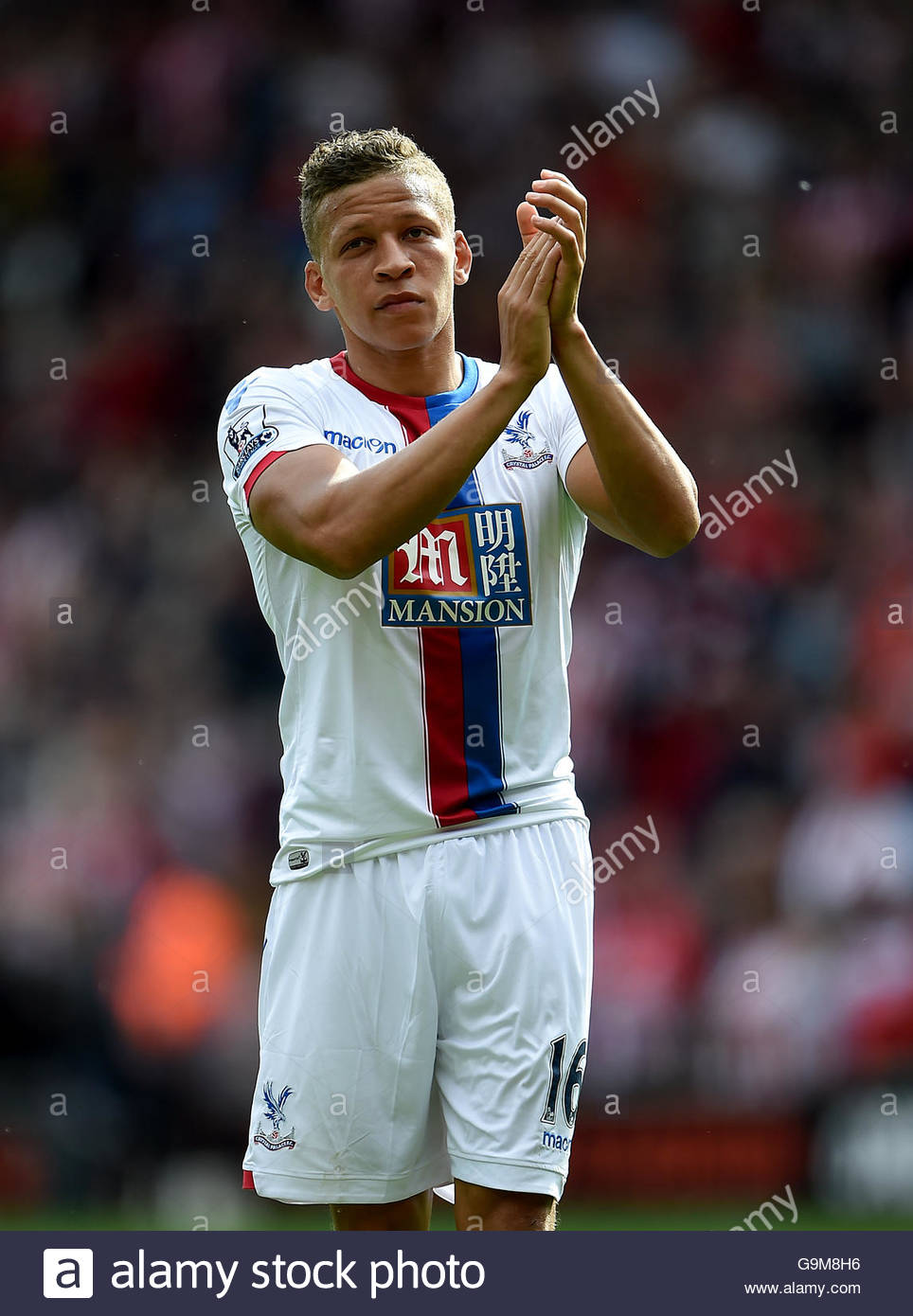 File photo dated 15-05-2016 of Crystal Palace's Dwight Gayle. - Stock Image