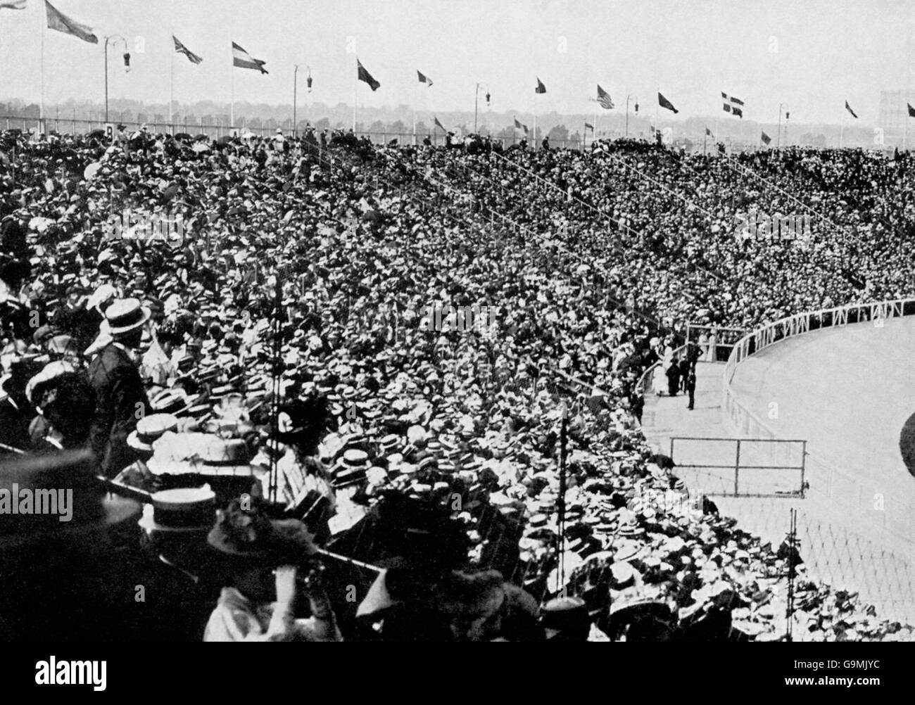 London Olympic Games 1908 - White City Stock Photo