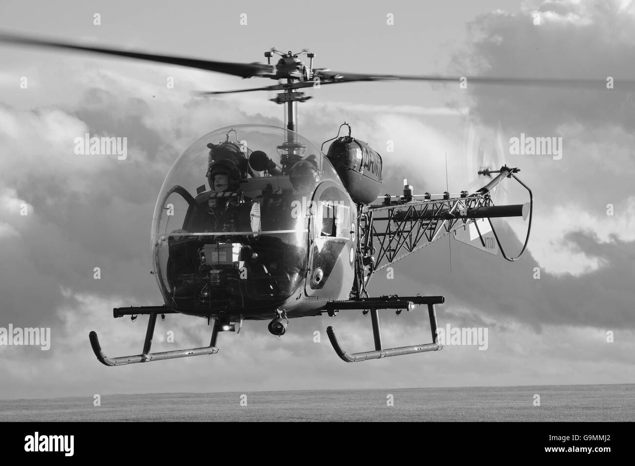 Army Air Corps Bell Sioux, - Stock Image