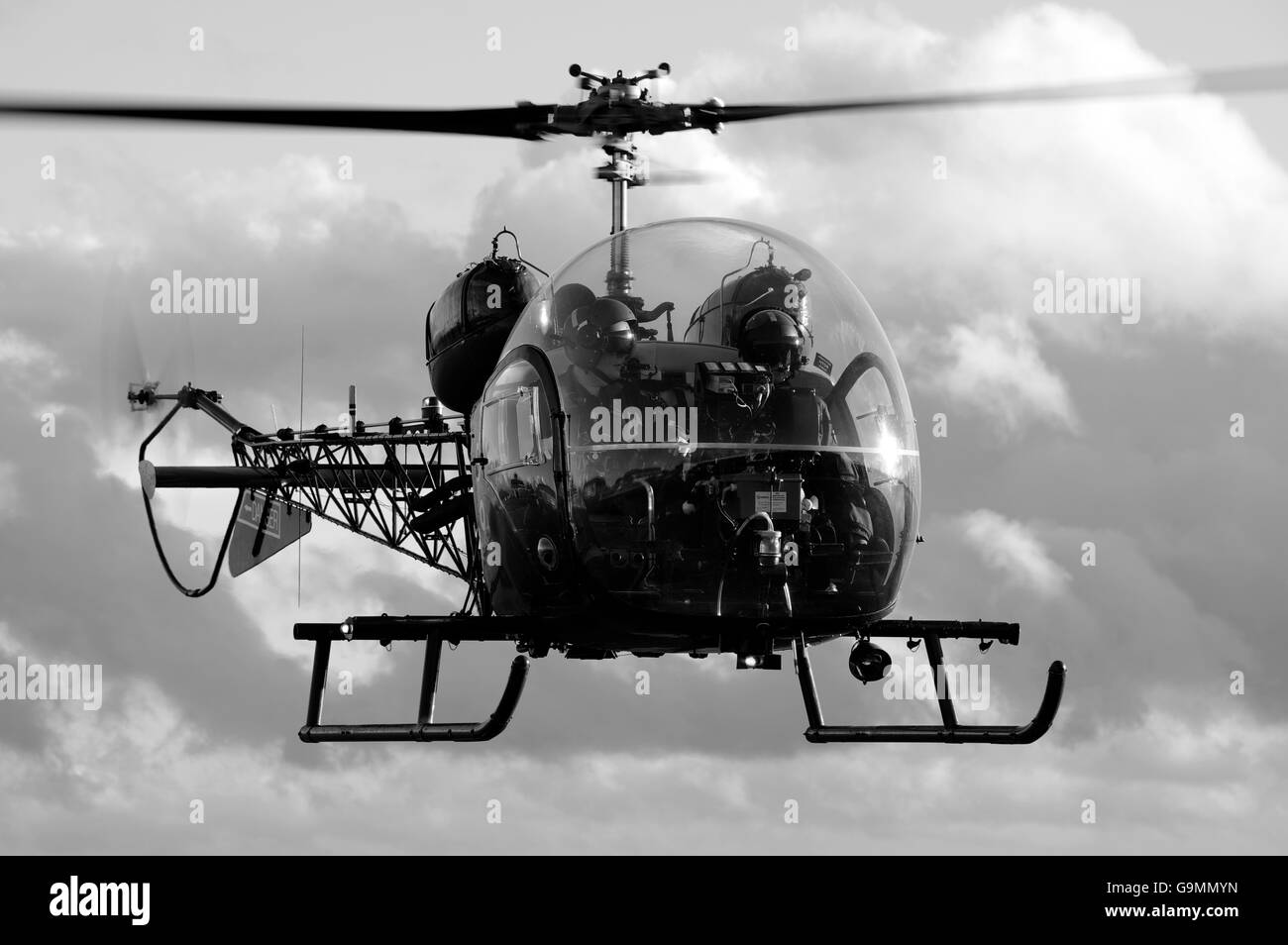 Army Air Corps Bell Sioux, Stock Photo