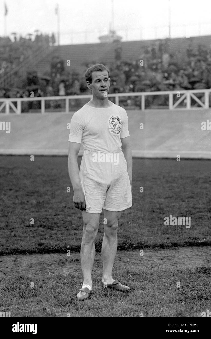 Athletics - London Olympic Games 1908 - Five Miles - Final - White City - Stock Image