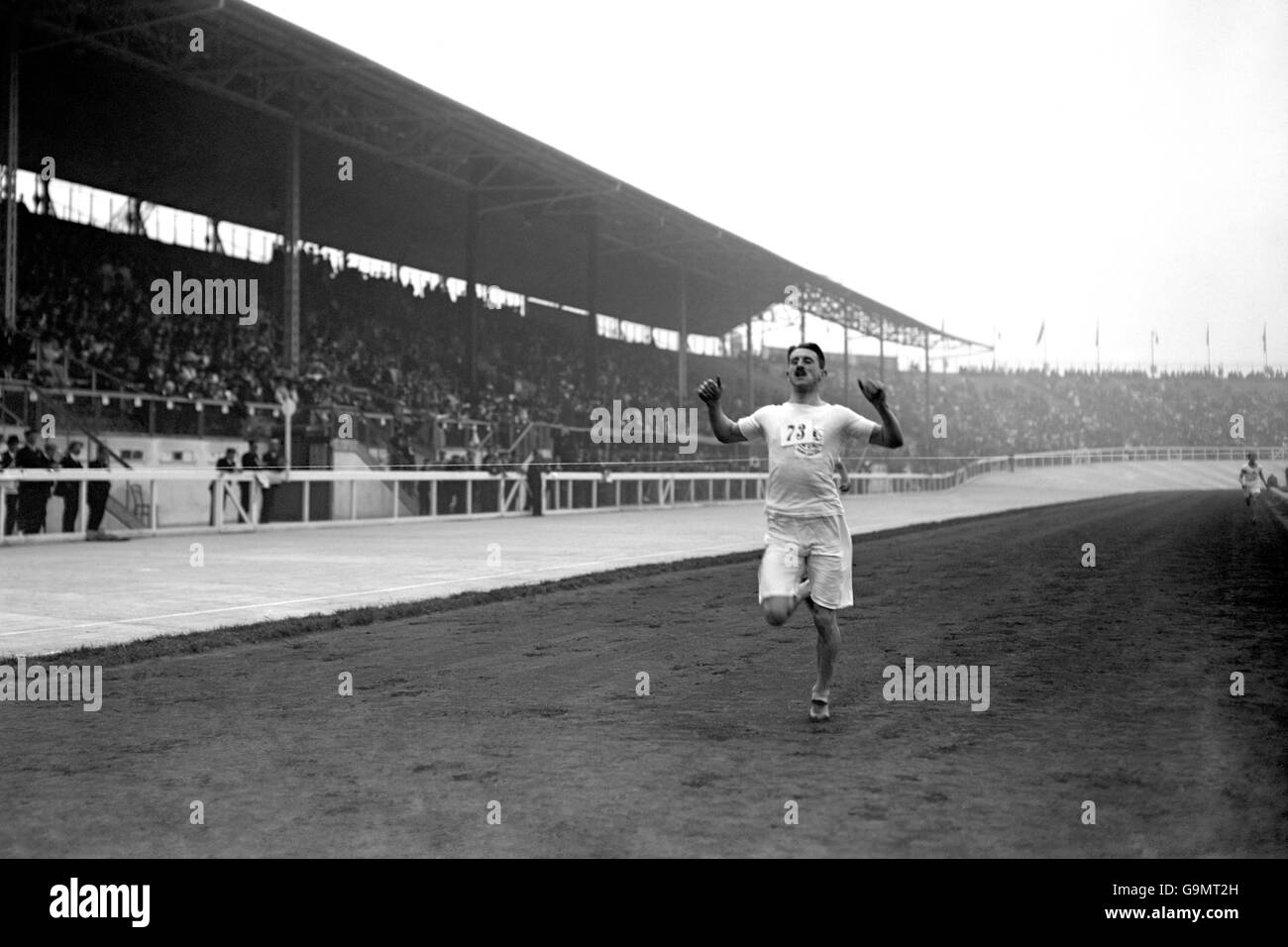 Athletics - London Olympic Games 1908 - 400m - Heat 15 - White City Stock Photo