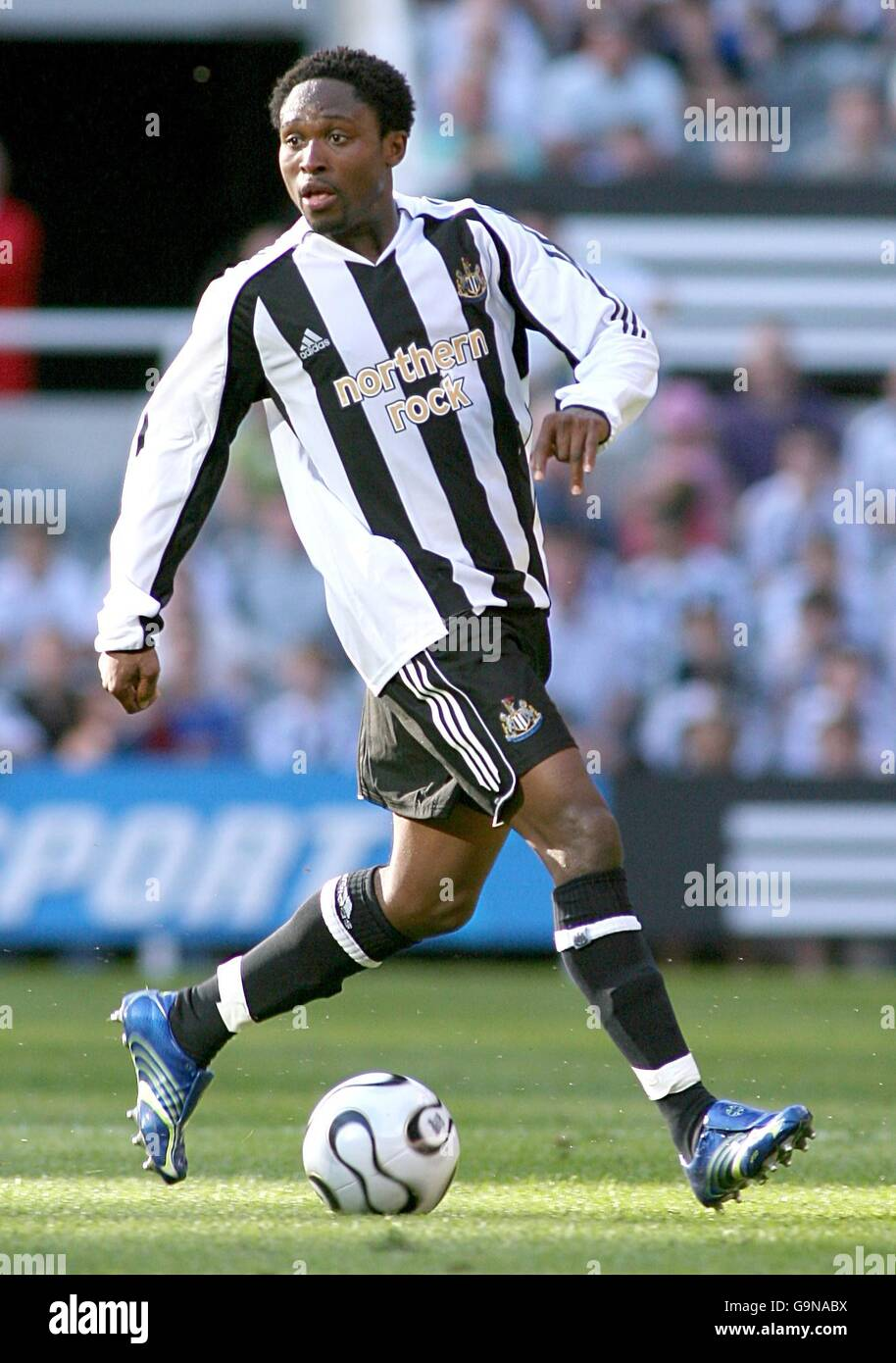 Soccer - Intertoto Cup - Third Round - First Leg - Newcastle United v Lillestrom - St James' Park - Stock Image