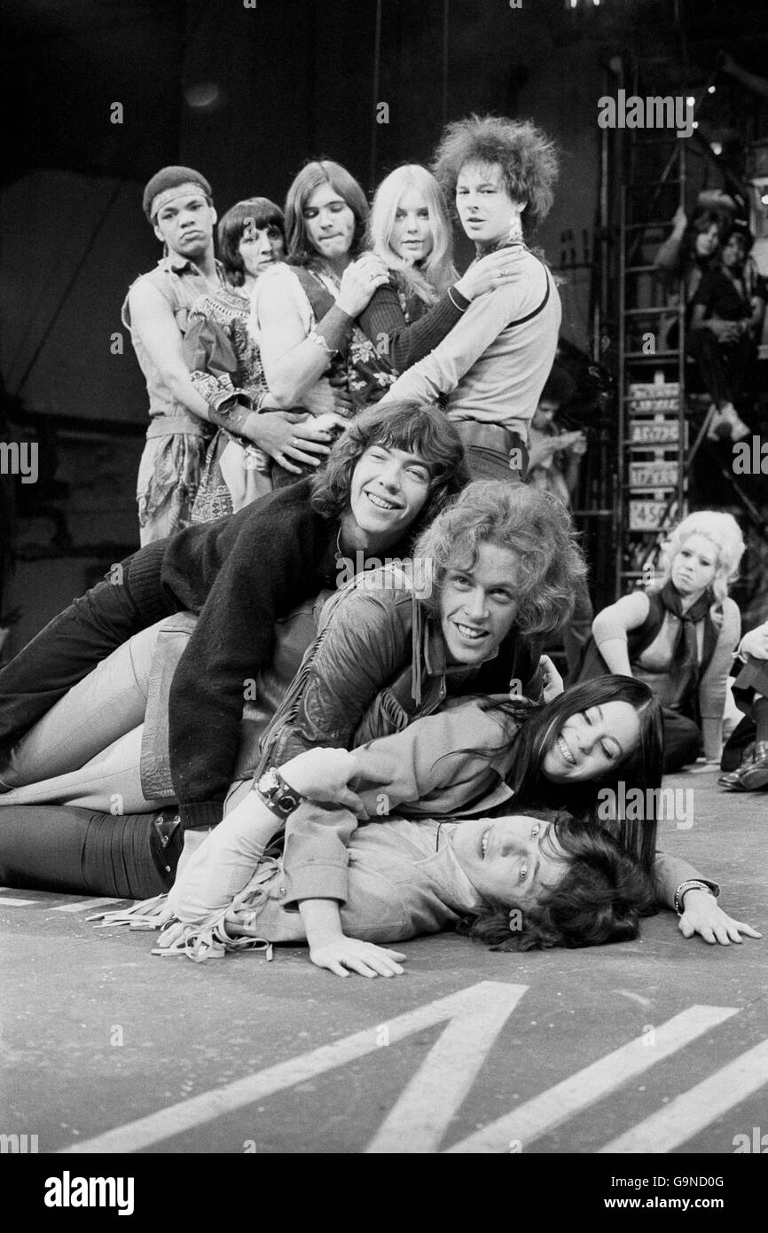 Cast of 'Hair' - Stock Image