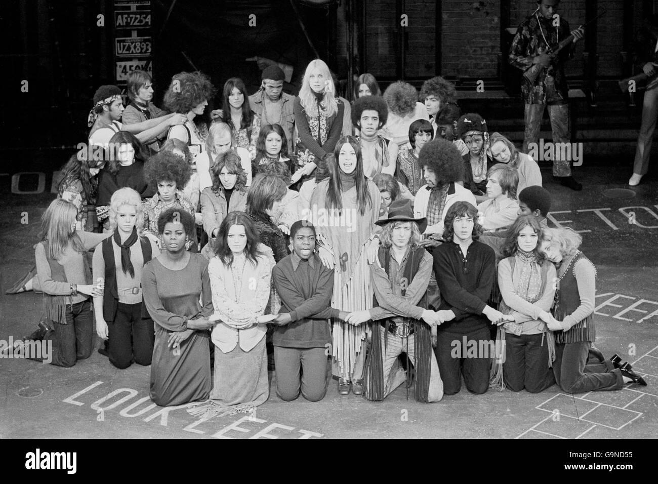 'Hair' - Shaftesbury Theatre - Stock Image