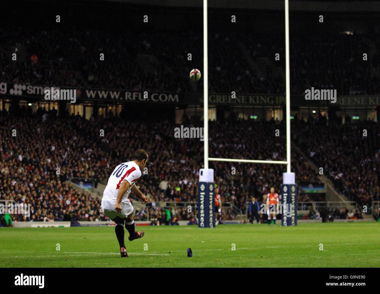 Rugby Union - Investec Challenge Autumn Series 2006 - England v New Zealand - Twickenham Stock Photo