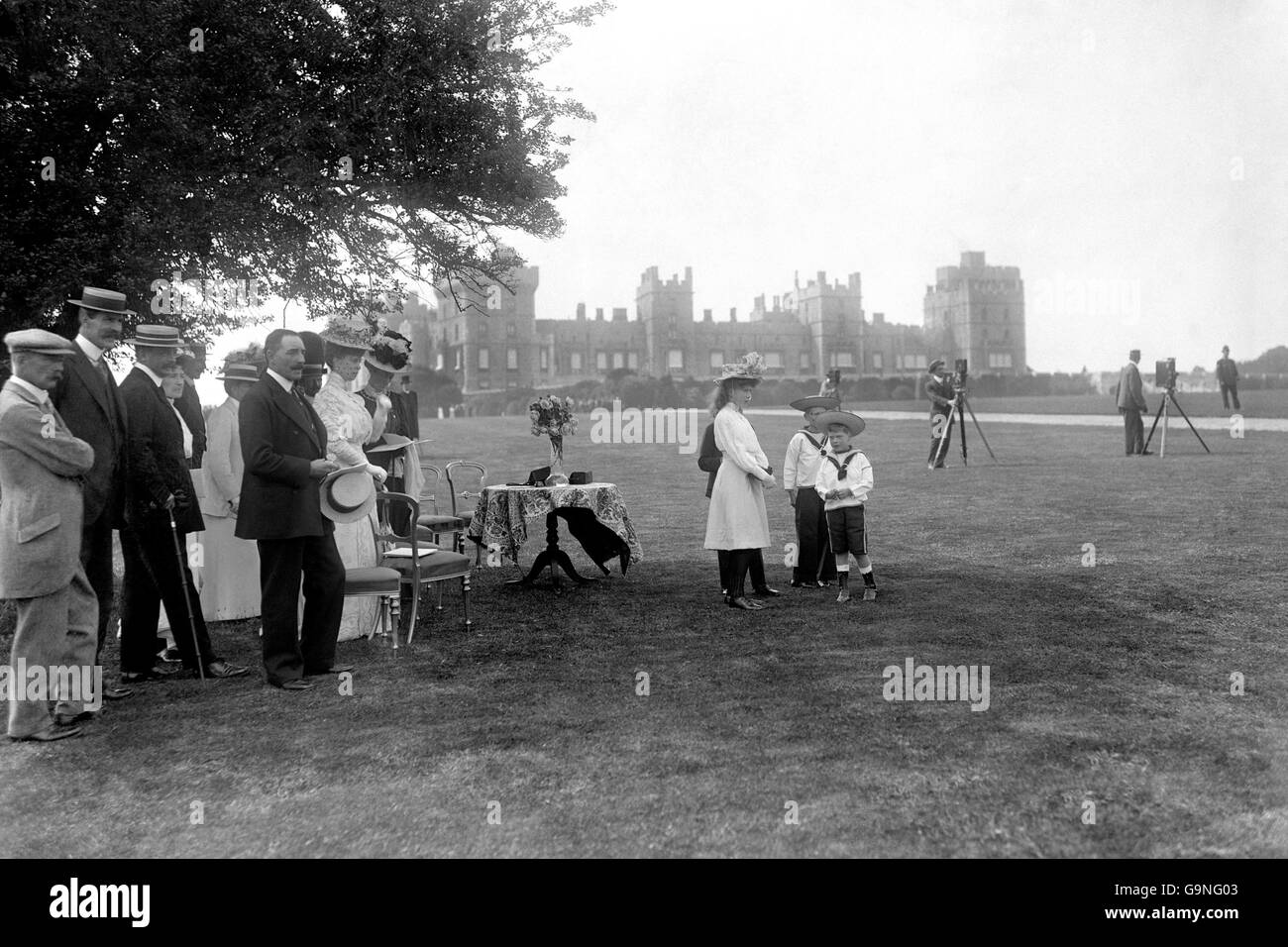 Athletics - London Olympic Games 1908 - Marathon - Stock Image