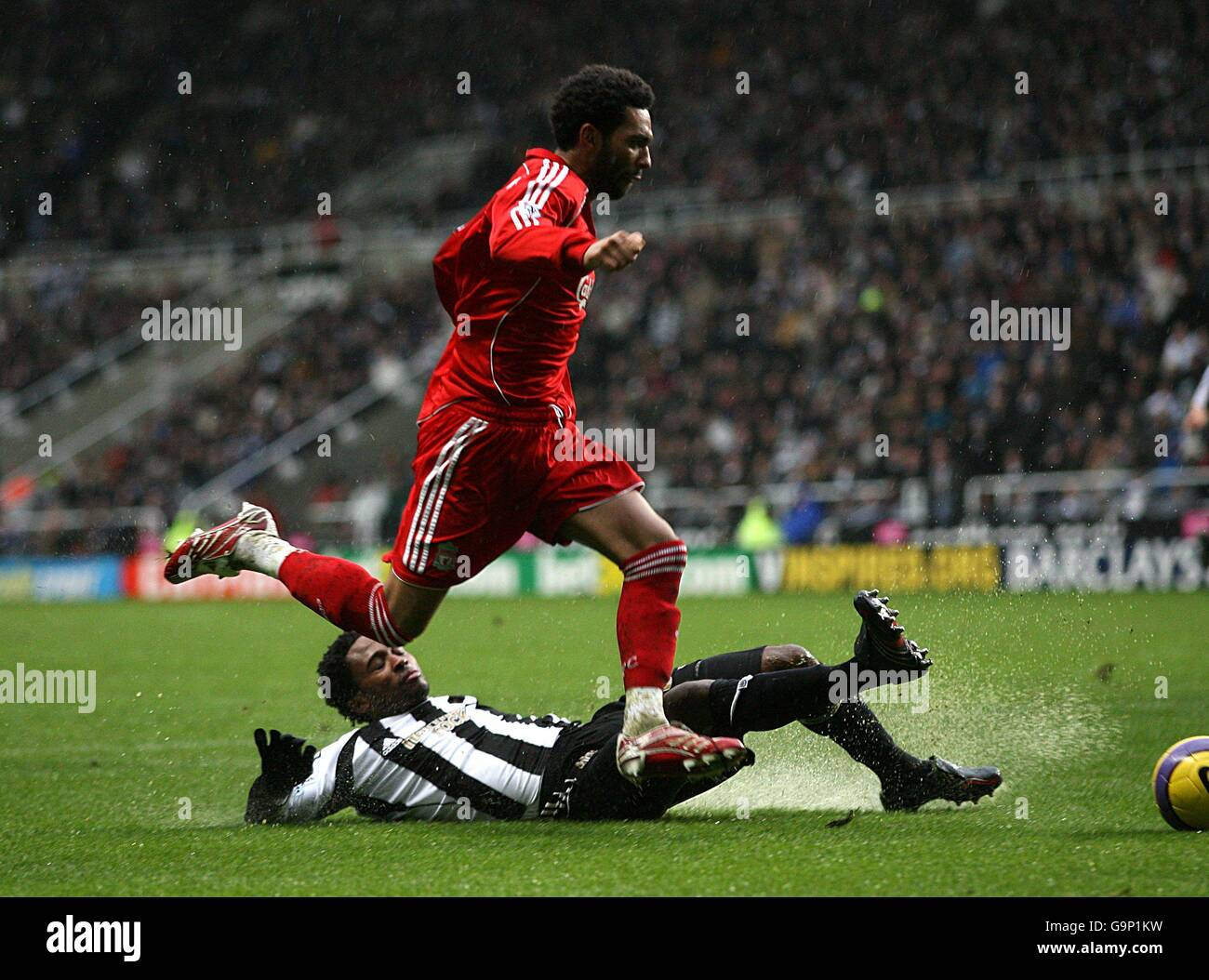 Soccer - FA Barclays Premiership - Newcastle United v Liverpool - St James Park - Stock Image