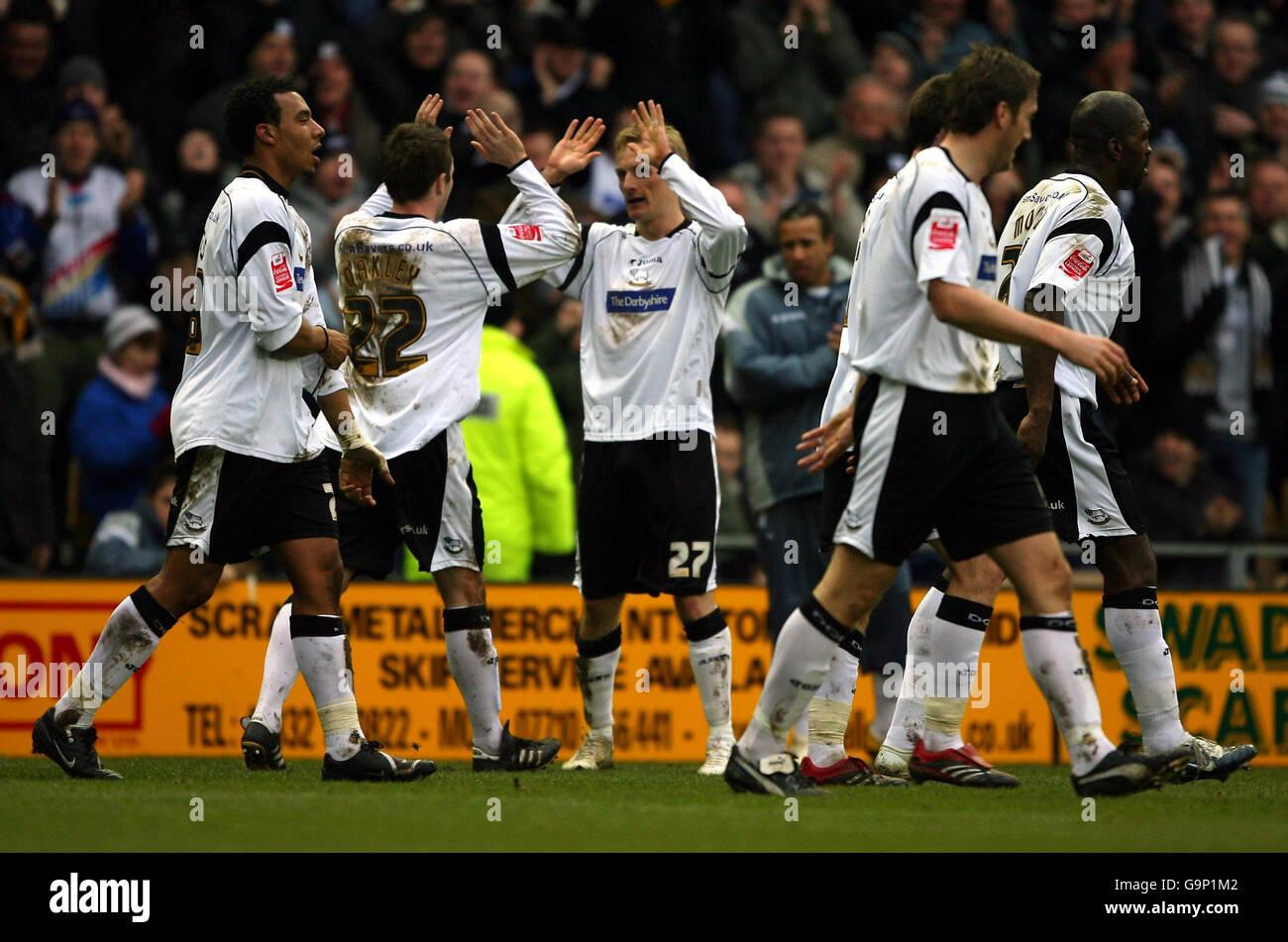 Soccer - Coca-Cola Football Championship - Derby County v Hull City - Pride Park Stock Photo