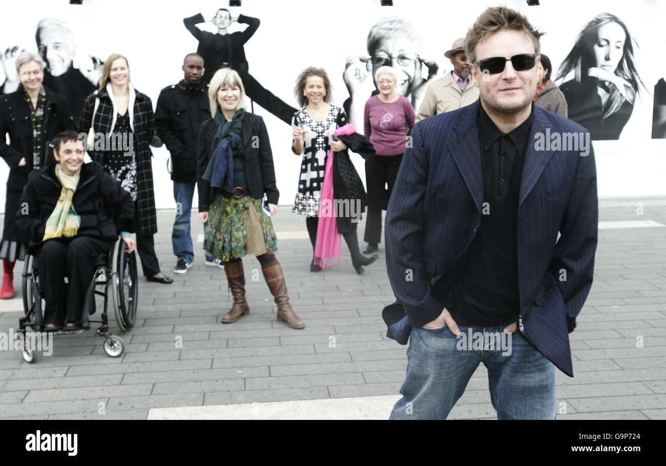 'Rankin's Front Row' launch at Royal Festival Hall - Stock Image