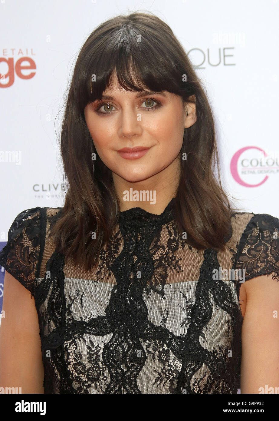 May 10, 2016 - Lilah Parsons attending The Fragrance Foundation Awards at The Brewery in London, UK. - Stock Image