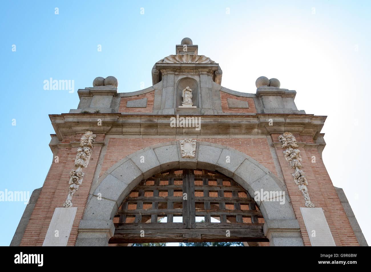 Puente de San Martín in Toledo Spain Europe - Stock Image