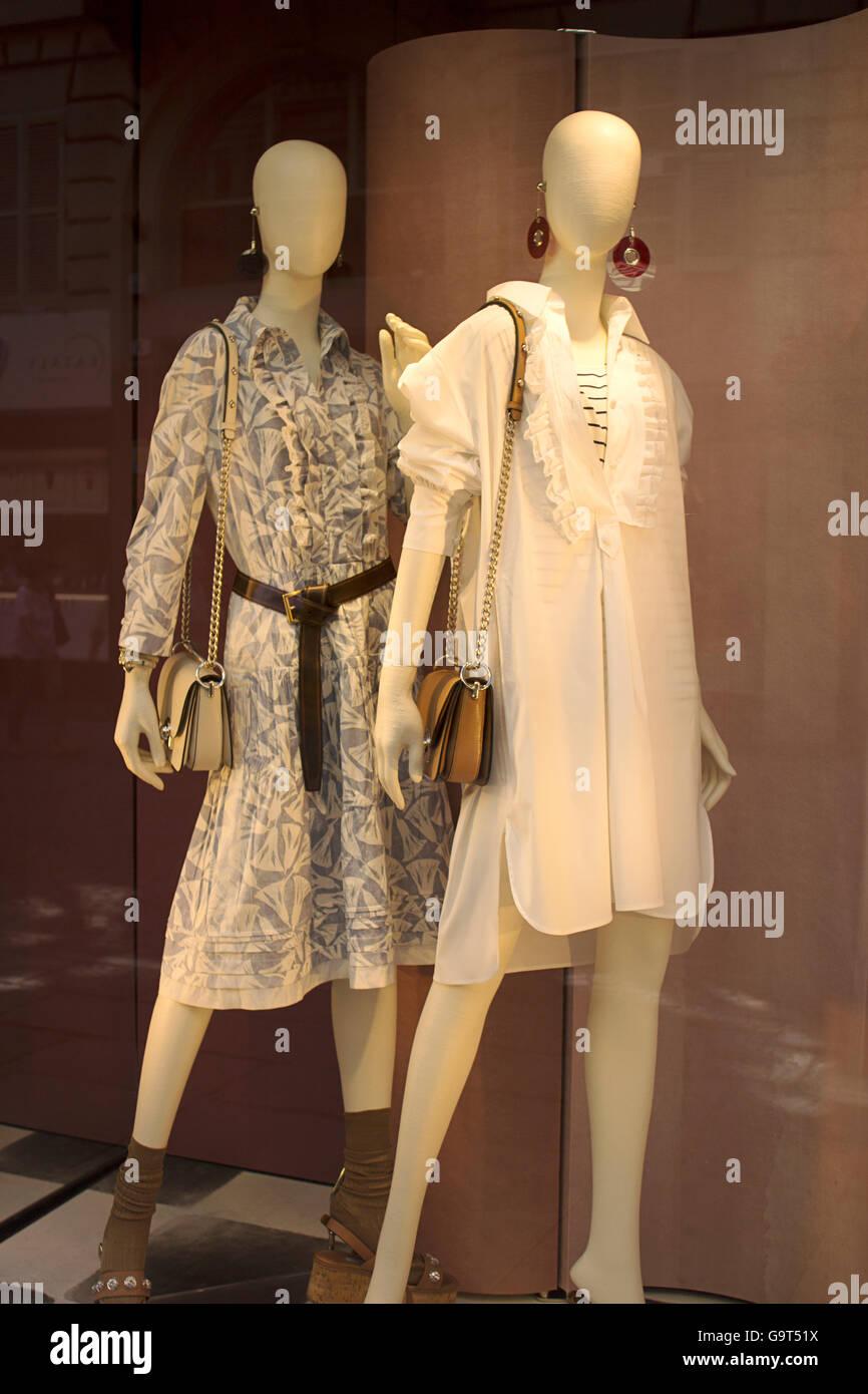 e1d56b174b96 Prada women luxury high fashion and accessories shopping windows in Turin  fashion avenue, Via Lagrange