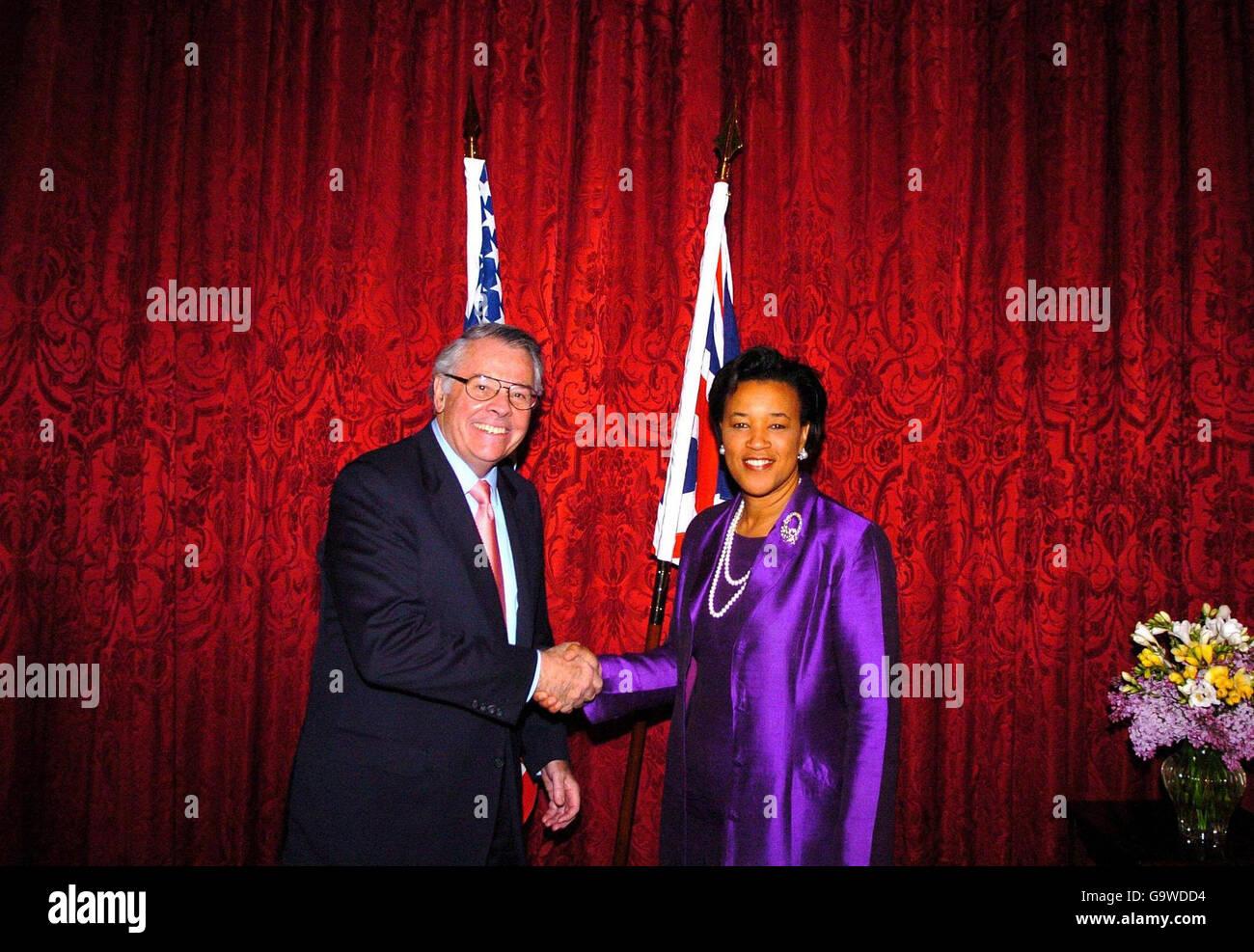 UK/US extradition treaty ratified Stock Photo: 109353472 - Alamy