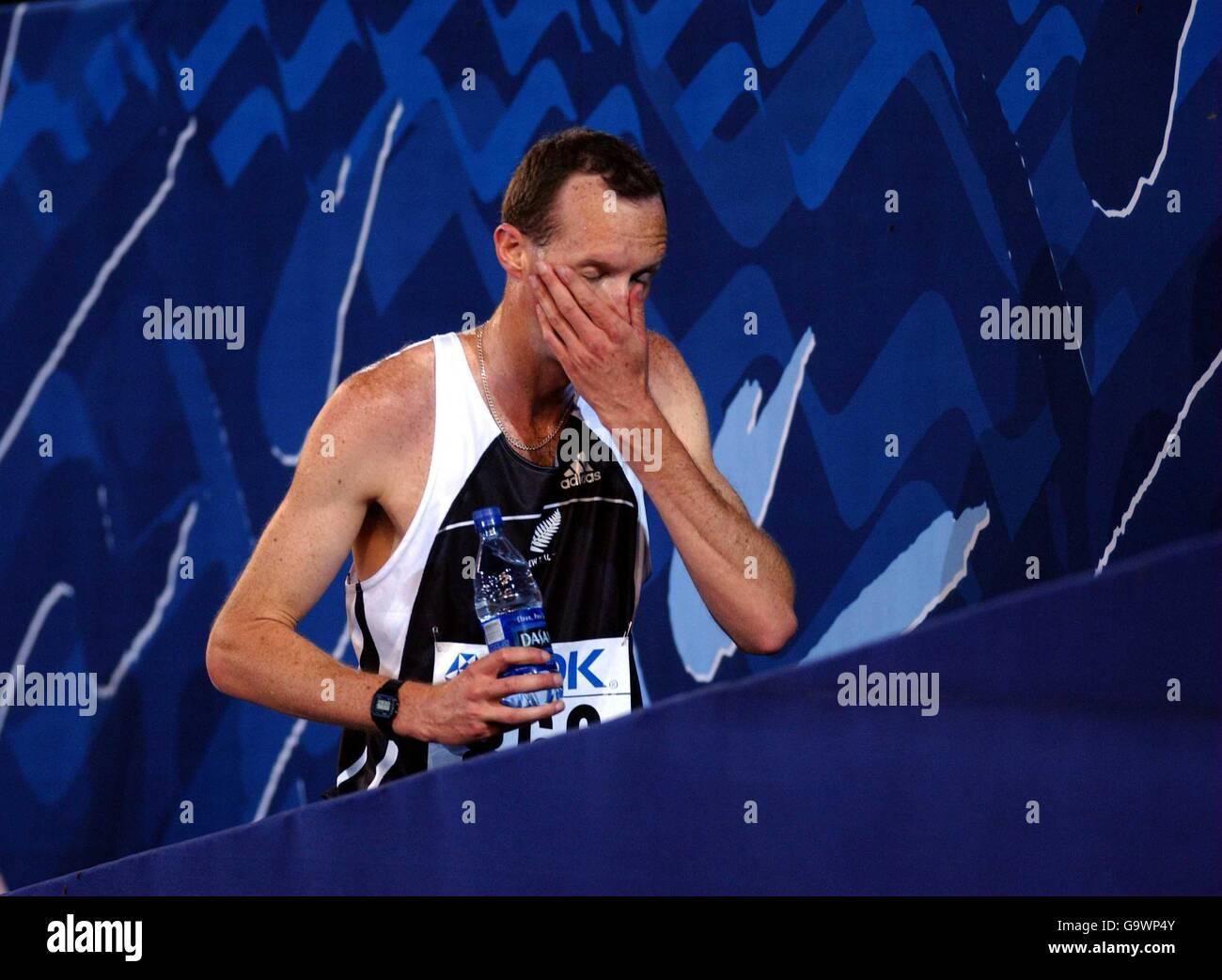 Athletics - IAAF World Championships - Edmonton - Stock Image