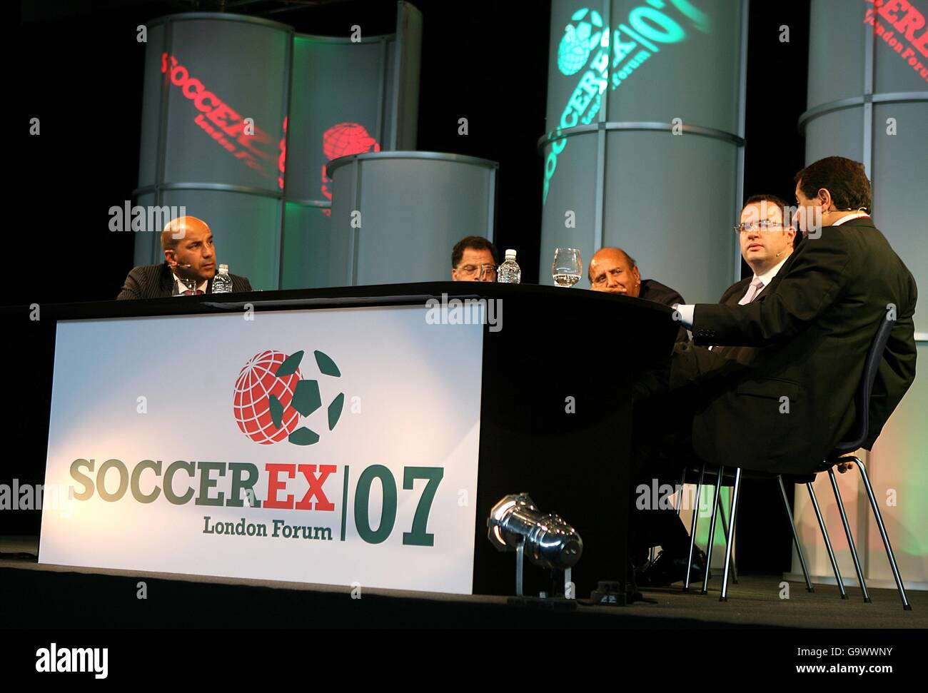 Soccerex London Forum - Wembley Stadium Stock Photo