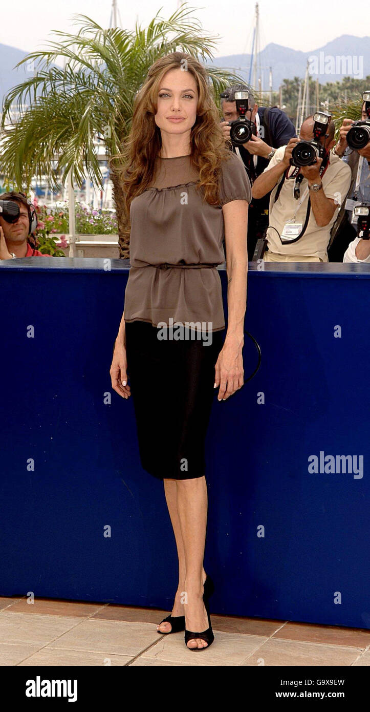 Cannes Film Festival - A Mighty Heart Photocall - Stock Image