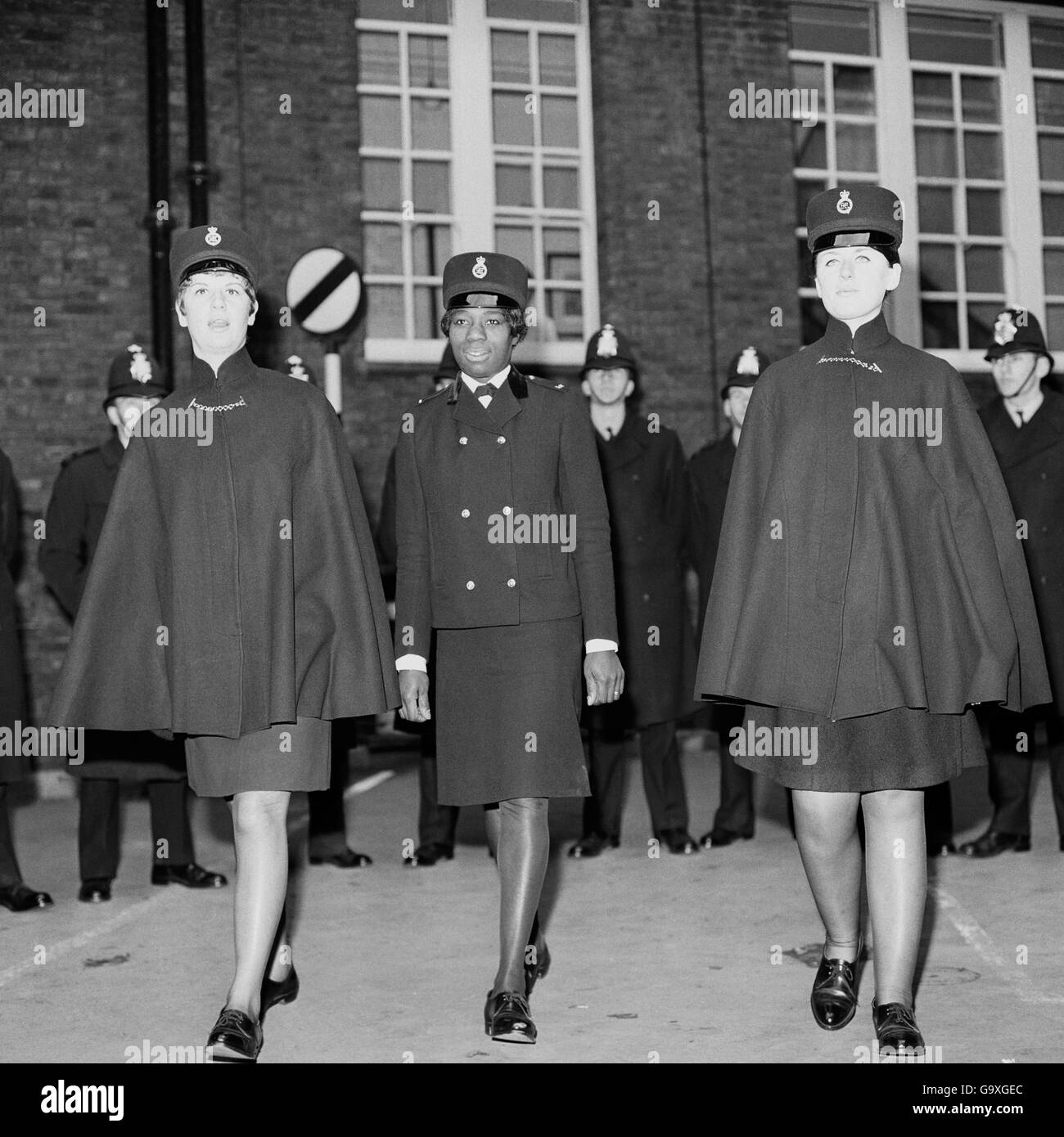 Britain's first coloured policewoman - Stock Image