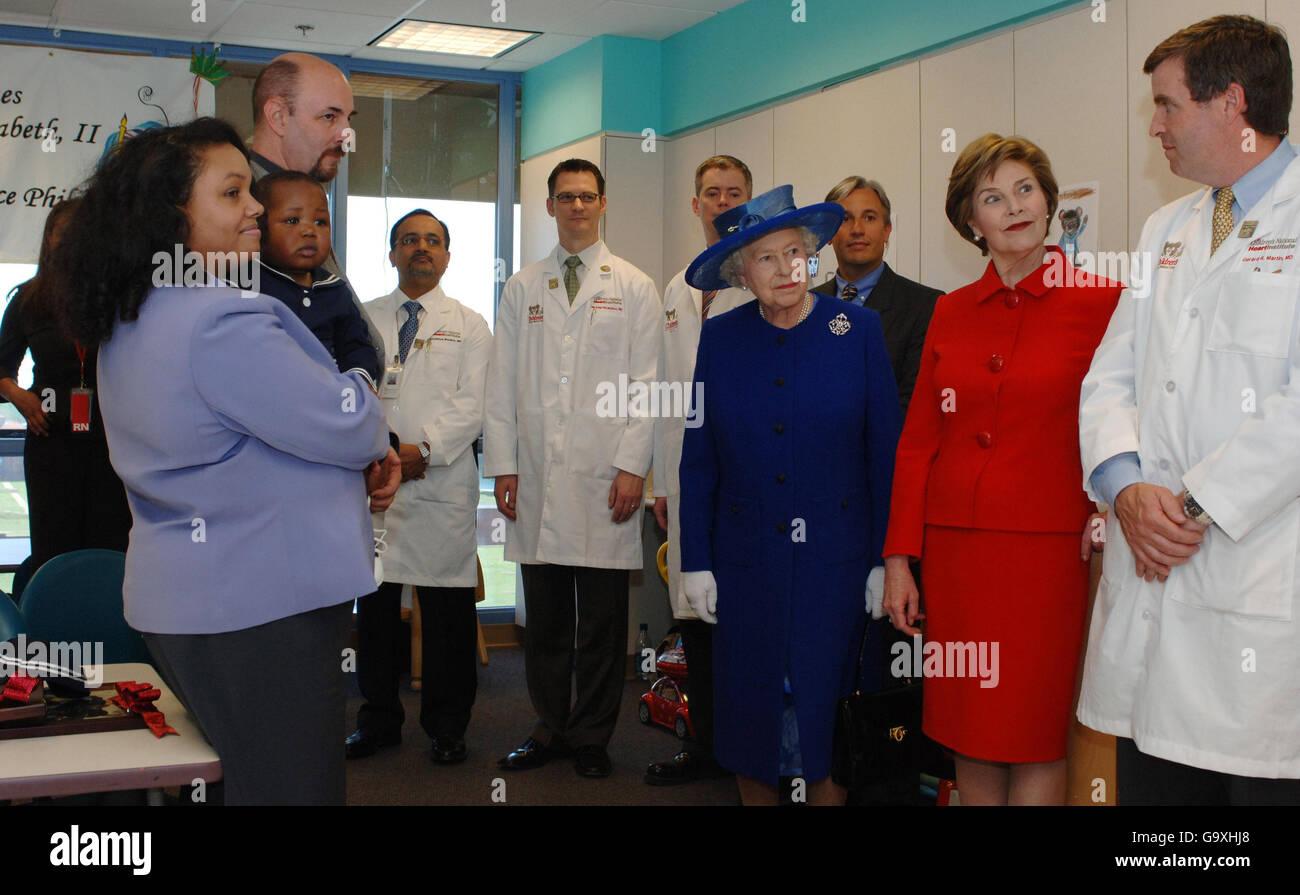 From Right Paediatric Cardiologist Gereard Martin Stock Photos