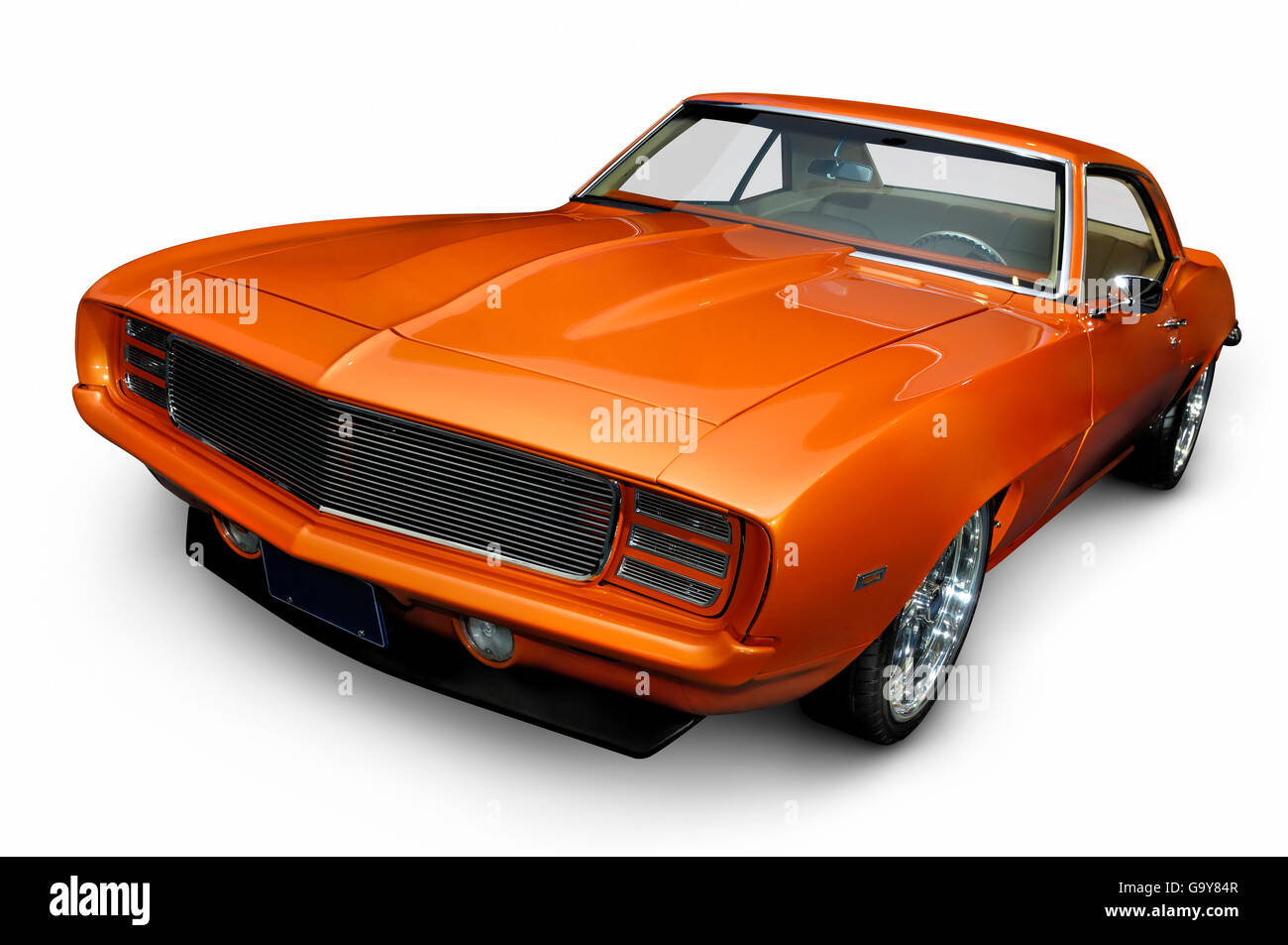 1969 Chevrolet Camaro RS/SS Classic Vintage Muscle Car   Stock Image