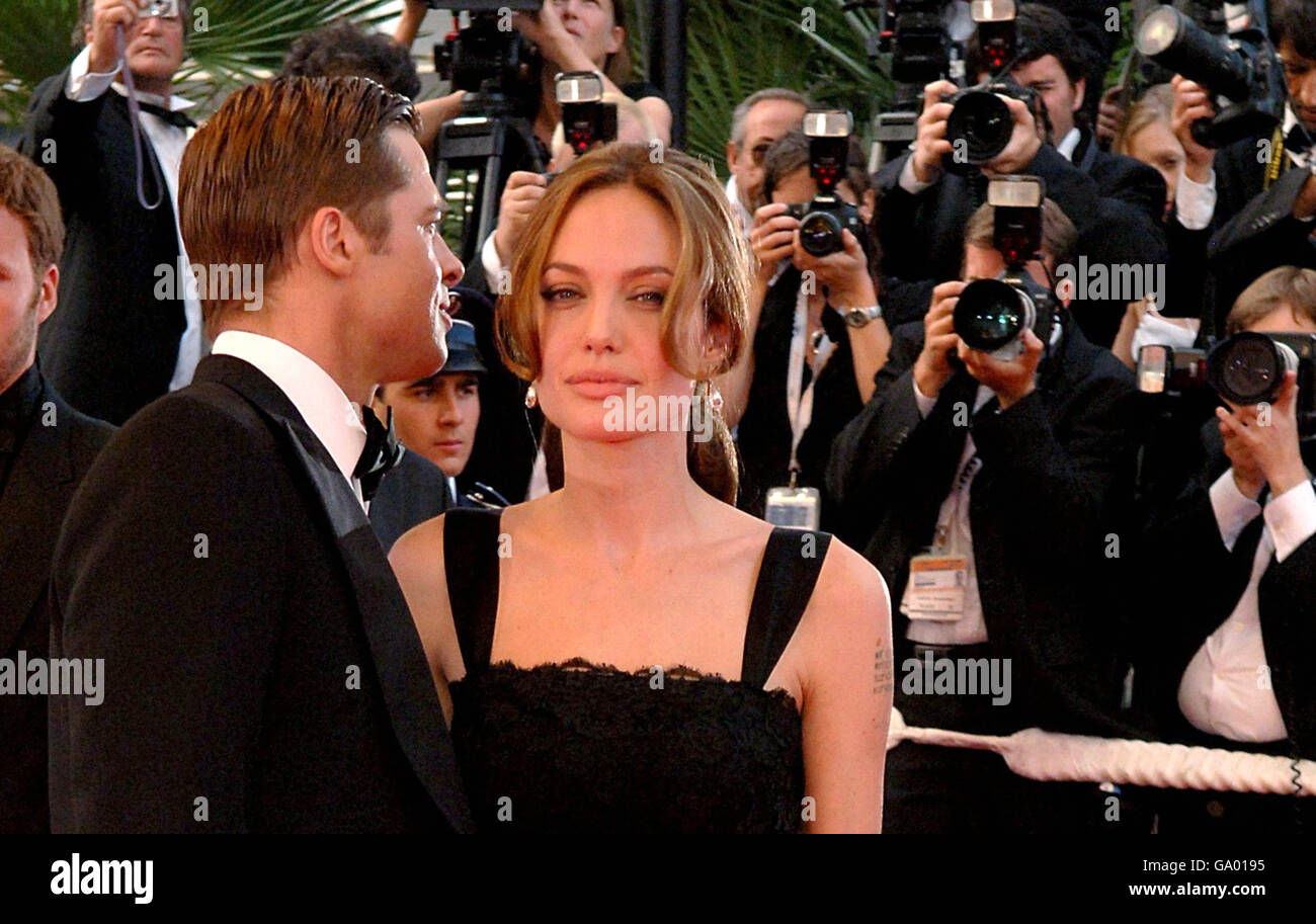 Cannes Film Festival - A Mighty Heart Red Carpet Arrivals - Stock Image