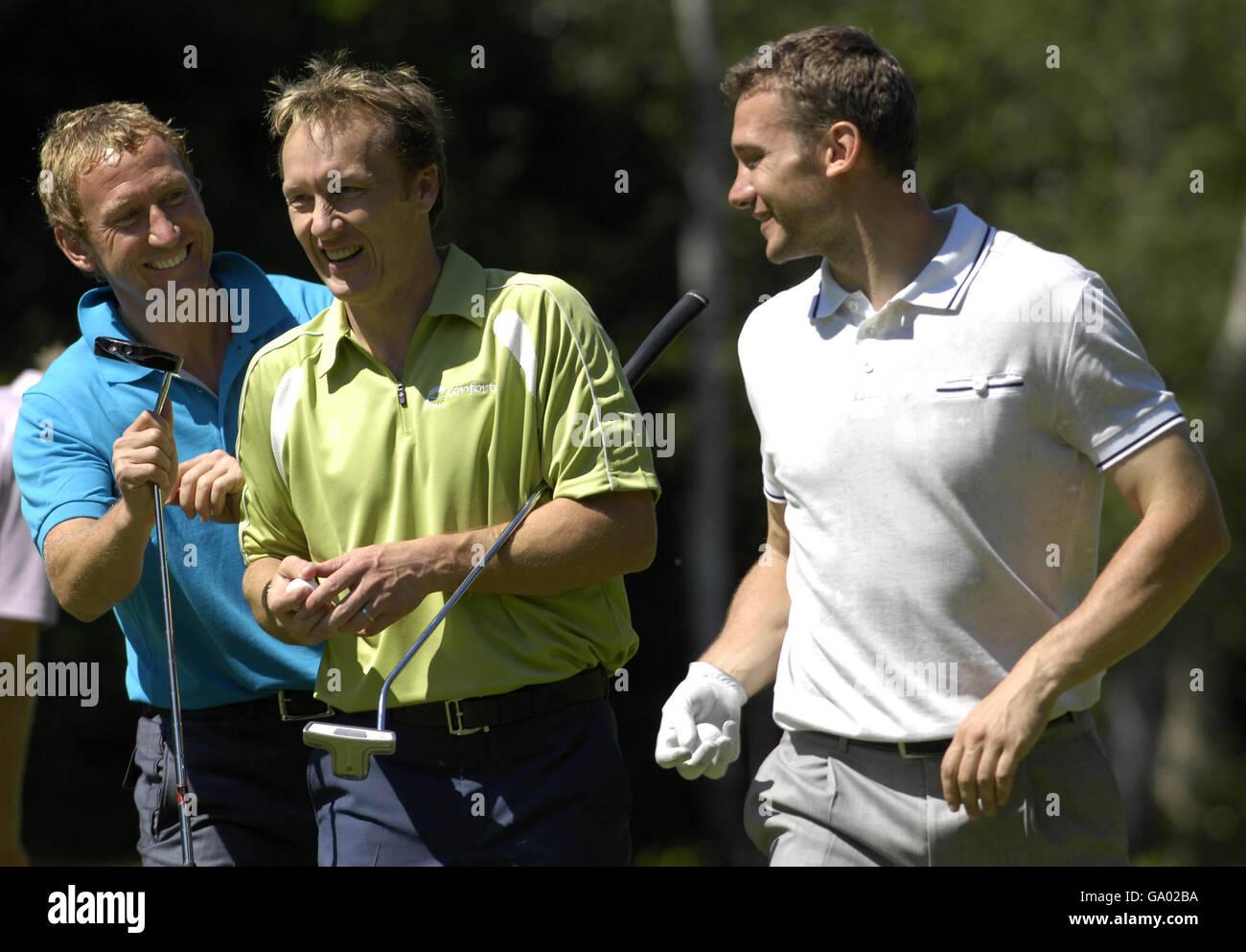 Golf - BMW Championship Pro-Am - Wentworth Golf club - Virginia Water - Stock Image